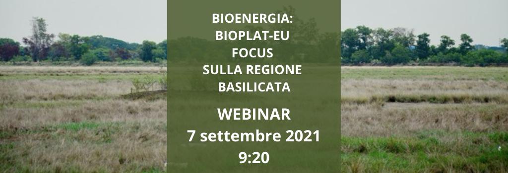 Bioenergia e Bioplateau